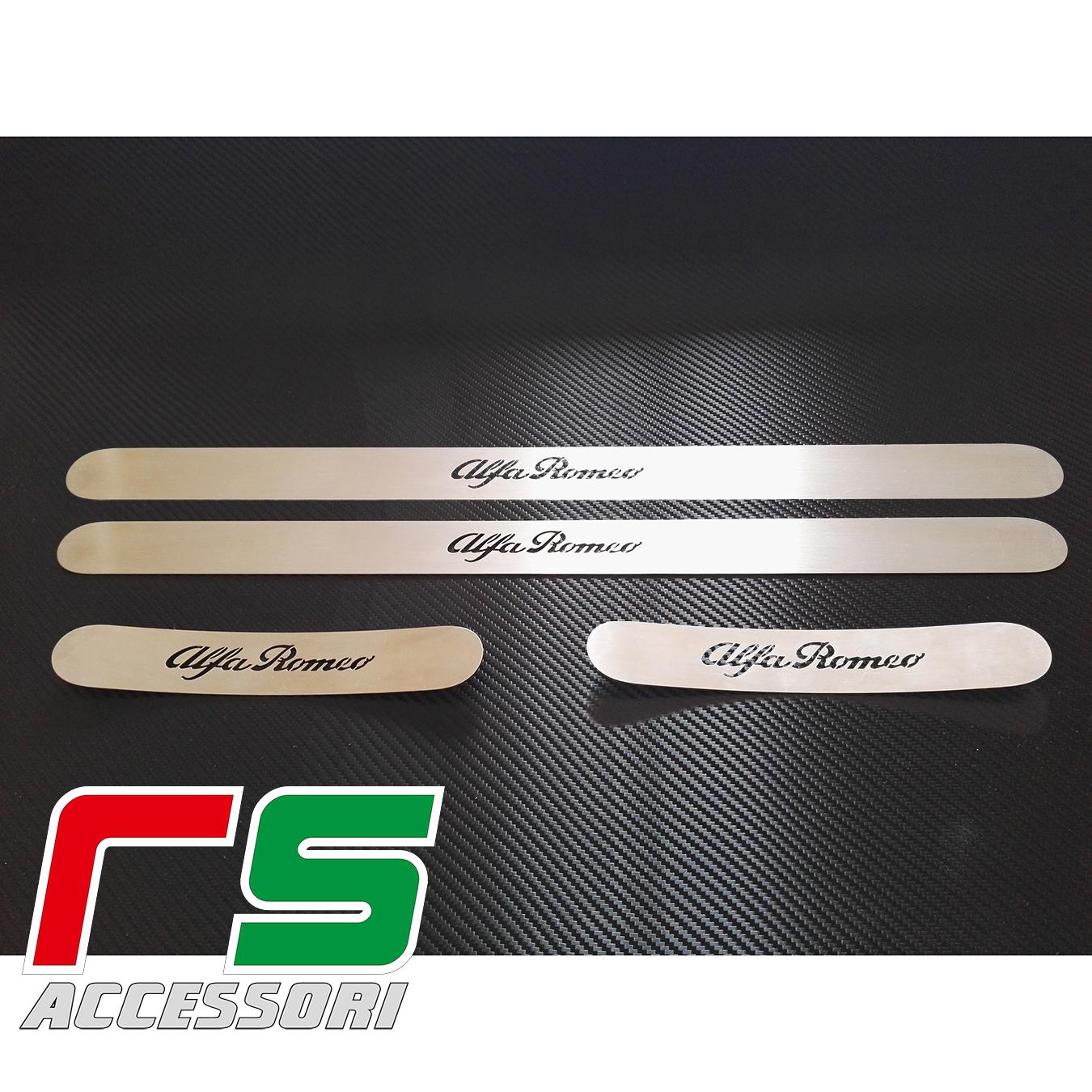 Alfa Romeo Giulietta sottoporta battitacco anteriore posteriore in acciaio