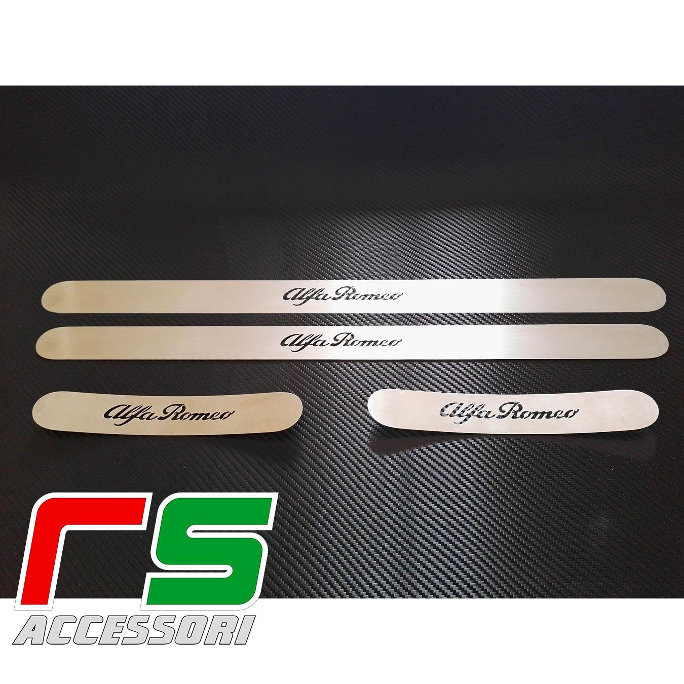 Alfa Romeo Giulietta aisi 304 stainless steel rear sill front door sill