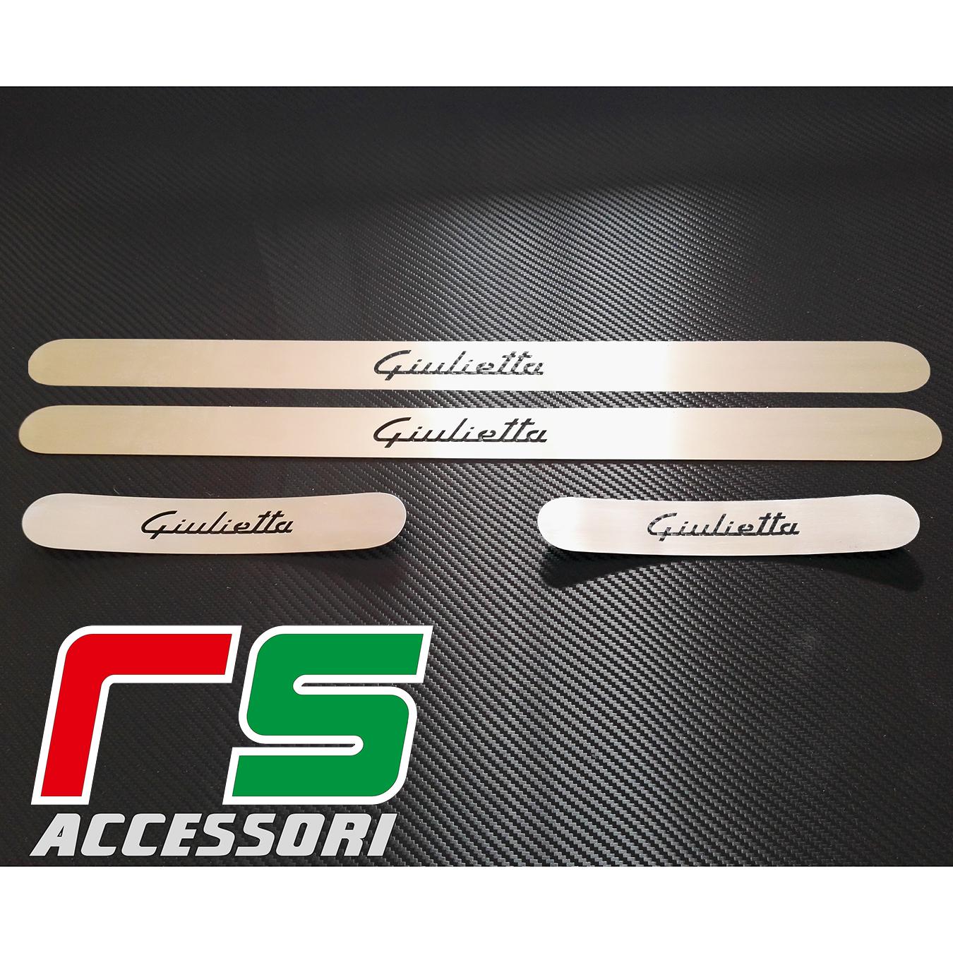 door sill Alfa Romeo Giulietta door sill in stainless steel (Copia)