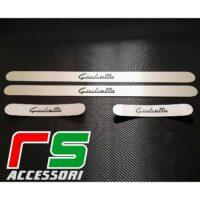 battitacco Alfa Romeo Giulietta sottoporta anteriore posteriore in acciaio