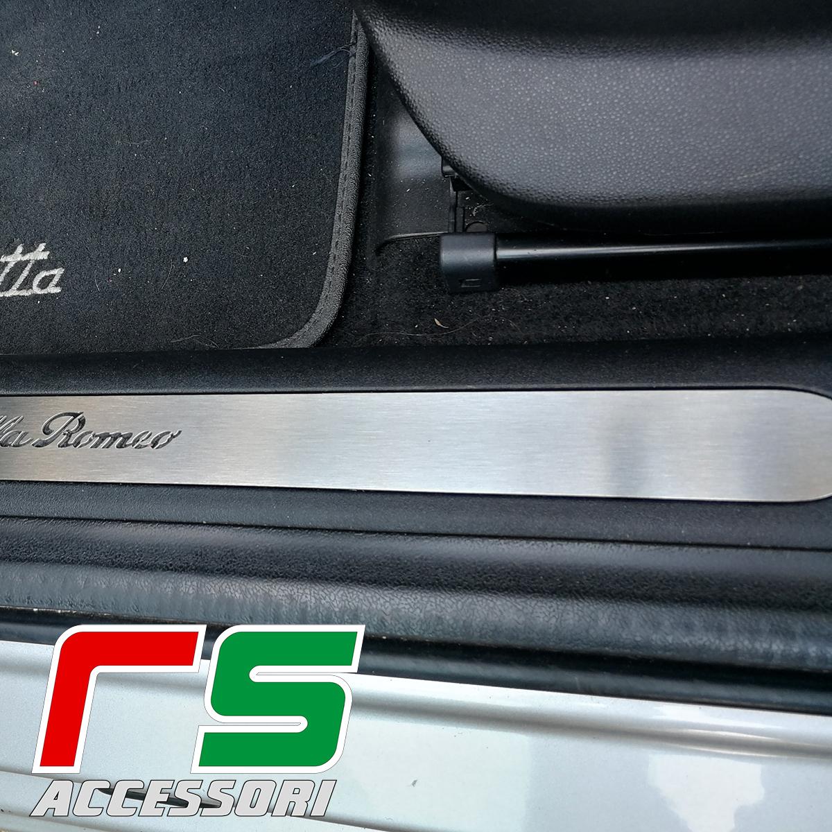 Soglia Battitacco Batticalcagno Sottoporta Alfa Romeo
