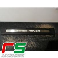 soglie battitacco illuminate Range Rover Evoque coupè cabrio acciaio