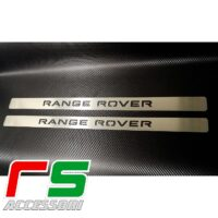 soglia battitacco batticalcagno Range Rover Evoque coupè cabrio acciaio