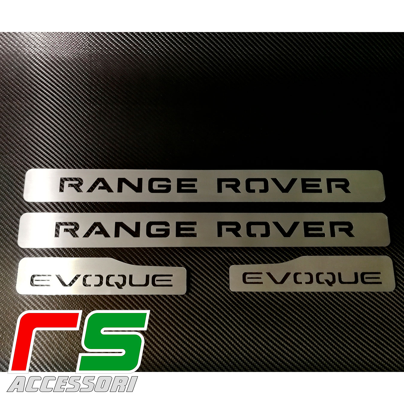 sill plate sill board Range Rover Evoque in stainless steel