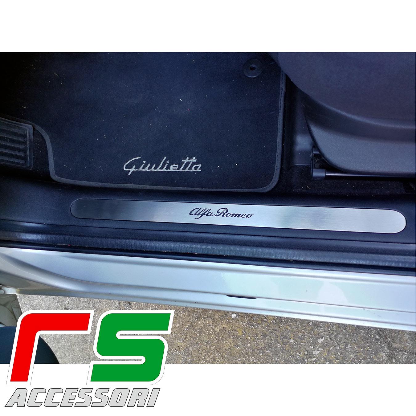 butée de seuil Alfa Romeo Giulietta plate-forme sous-marine en acier inoxydable