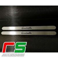 battitacco Alfa Romeo Giulietta sottoporta in acciaio inox