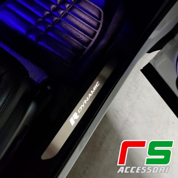Range Rover Evoque 2020 illuminated door sill