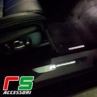 Range Rover Velar Rdynamic bright sill in stainless steel