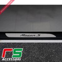 Seuil de porte Porsche Macan S en acier inoxydable