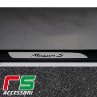 Porsche Macan s door sill guard in aisi 304 stainless steel