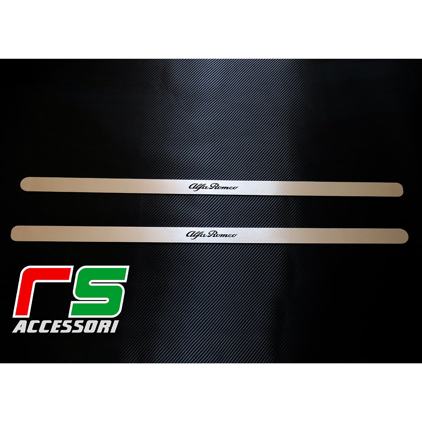sill threshold for Alfa Romeo 147 3door GT aisi 304 stainless steel