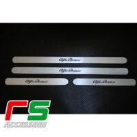 soglia battitacco sottoporta Alfa Romeo 147 5porte acciaio inox