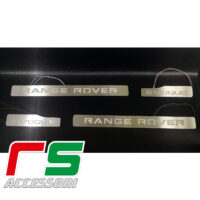 seuil de porte en acier inoxydable Range Rover Evoque