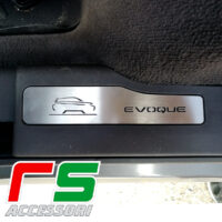 Range Rover Evoque sottoporta battitacco posteriore in acciaio