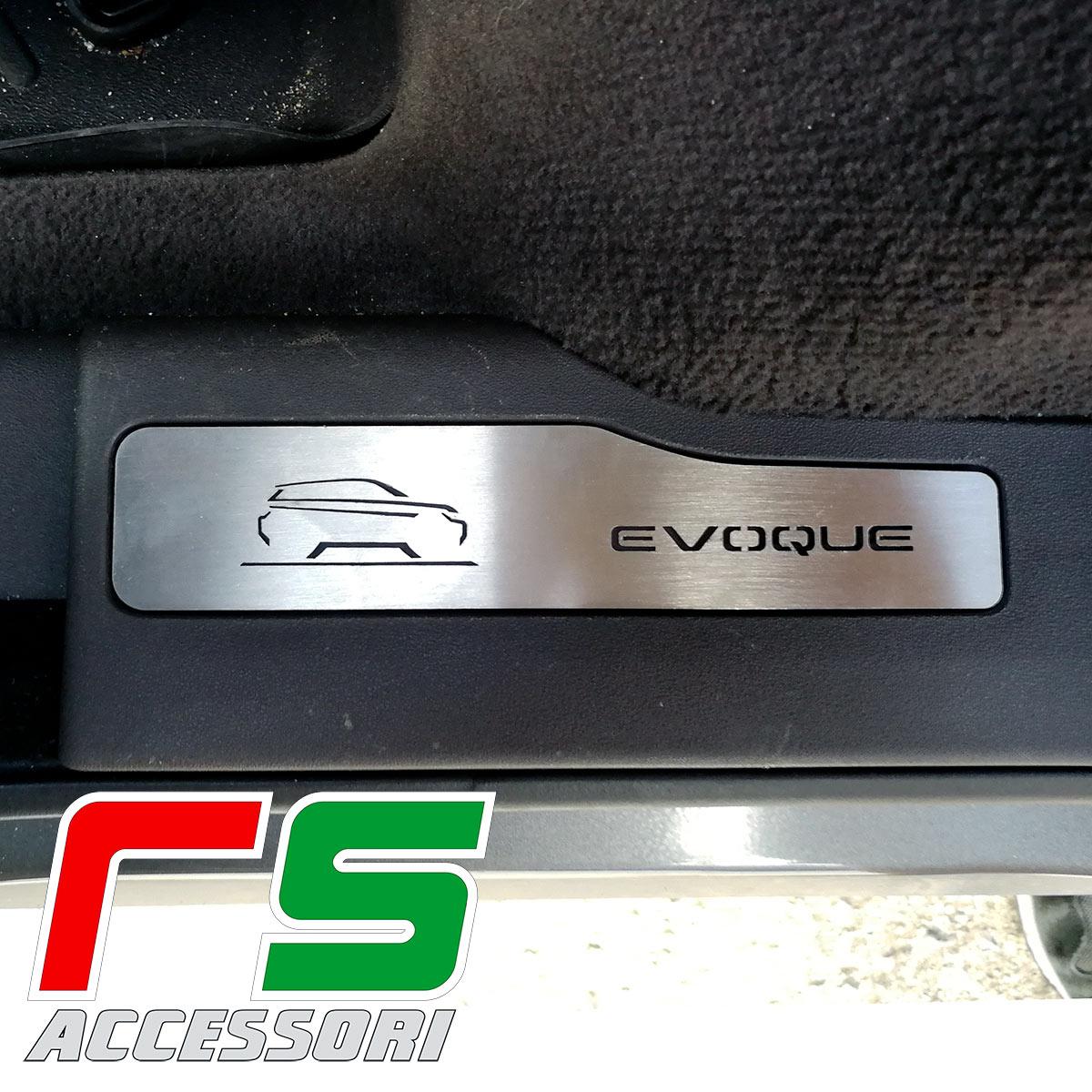 Range Rover Evoque steel rear door sill cover