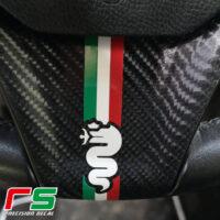 Adesivi Alfa Romeo Giulietta Mito volante biscione bandiera italiana