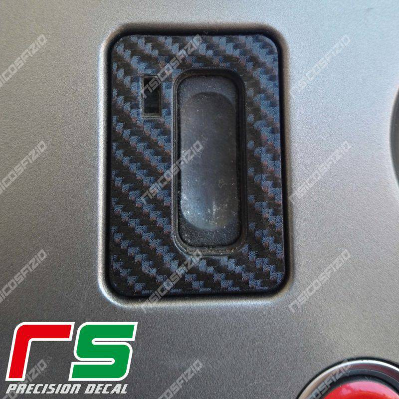 Stickers Alfa Romeo 159 Decal carbon look key ignition key