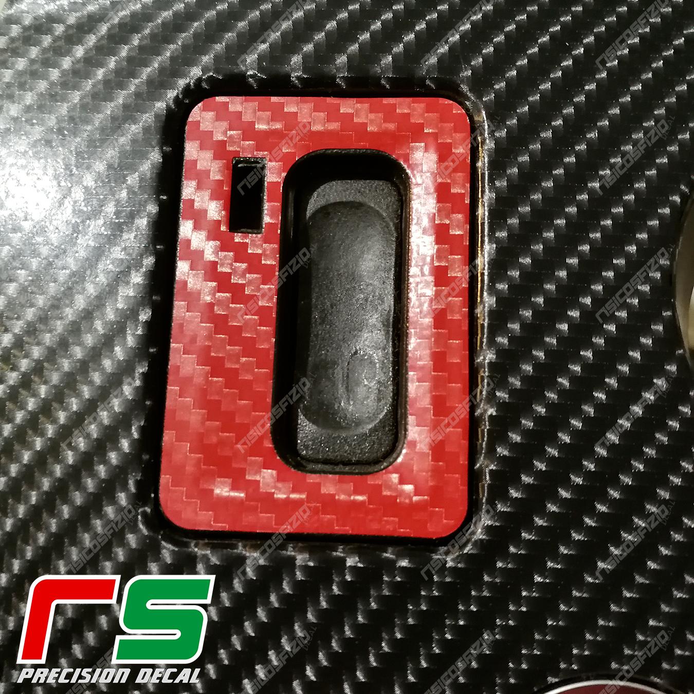 Adesivi Alfa Romeo 159 Decal Carbonlook Blocchetto Chiave