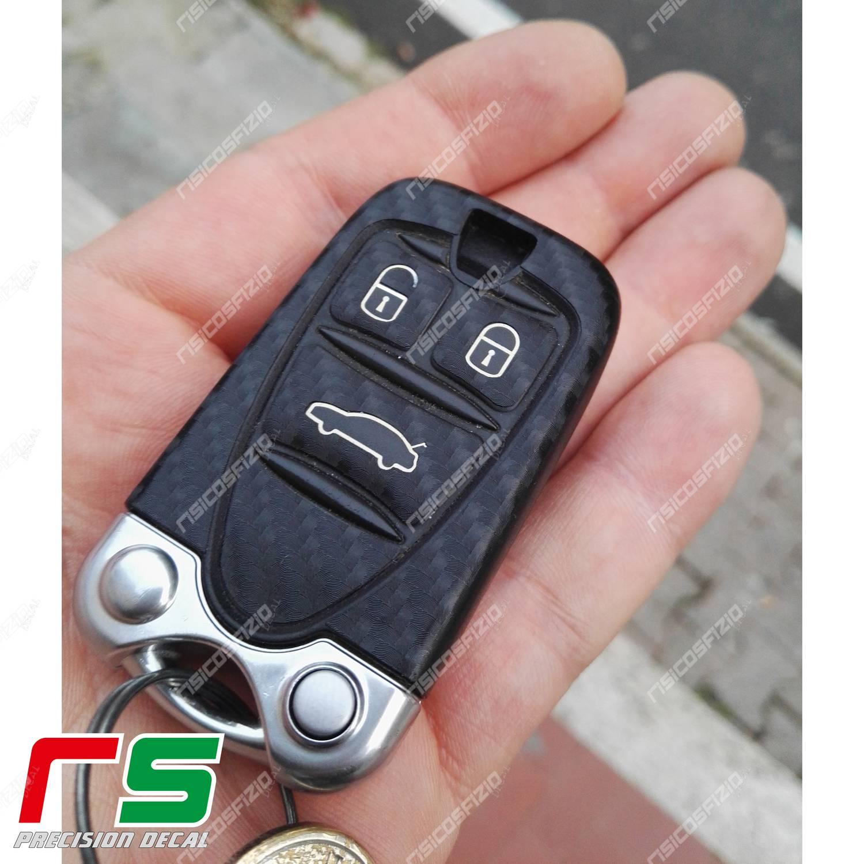 adesivo Alfa Romeo 159 carbonlook Decal chiave accensione