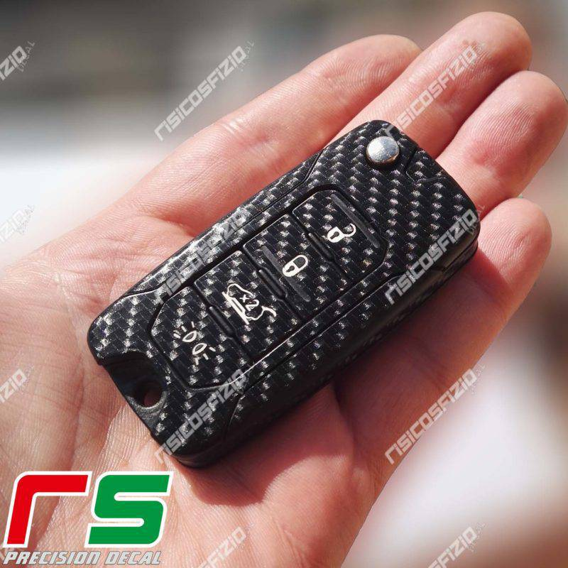 jeep stickers renegade sticker decal key cover carbon look