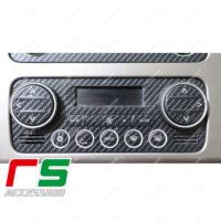 adesivi Alfa Romeo 159 serie 1 carbonlook Decal climatizzatore bizona
