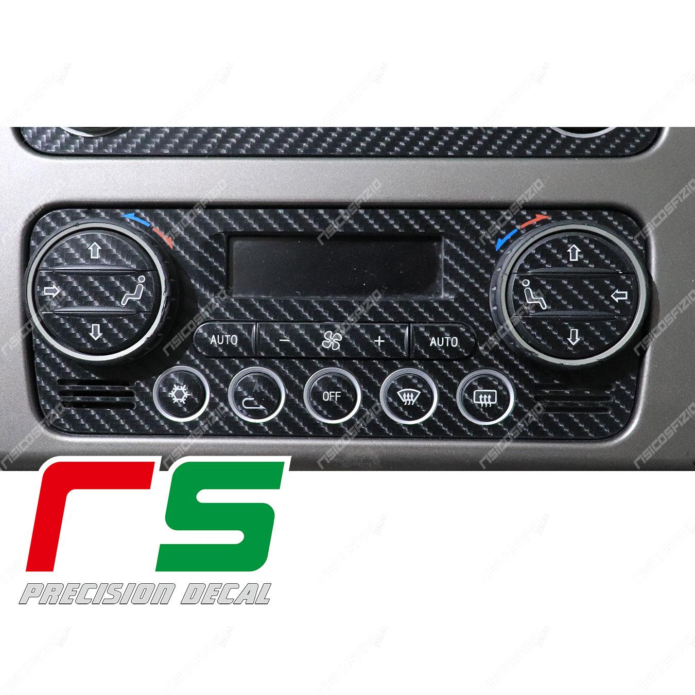 stickers Alfa Romeo 159 carbonlook Decal dual-zone air conditioner