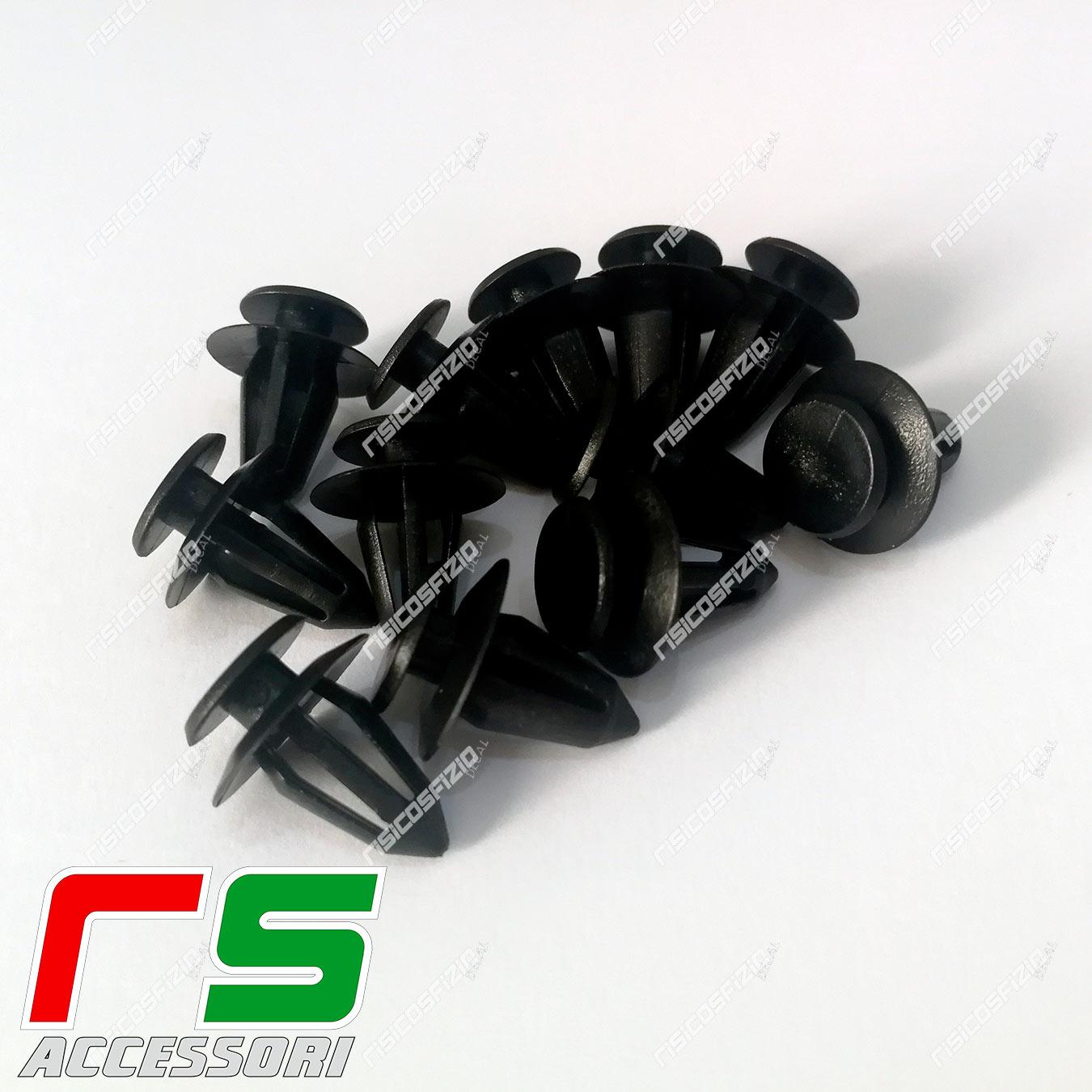 Elastic clips for Alfa Romeo Giulia spare part