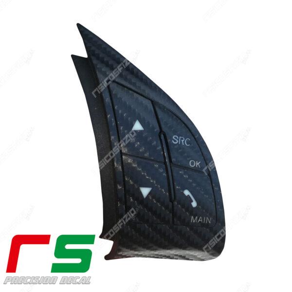 adesivi Fiat 500 Abarth Grande puntocomandi volante blueandme