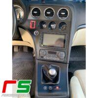 Alfa Romeo 159 stickers center console cover full frame change