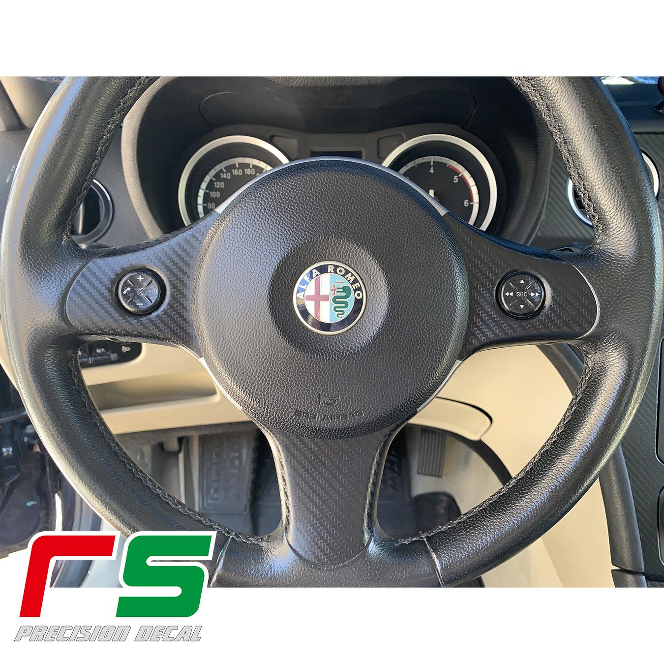 Alfa Romeo 159 ADHESIVES cache autocollant volant avec commandes