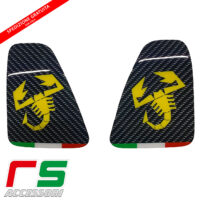 Fiat 500 595 695 Abarth resin stickers rear lights