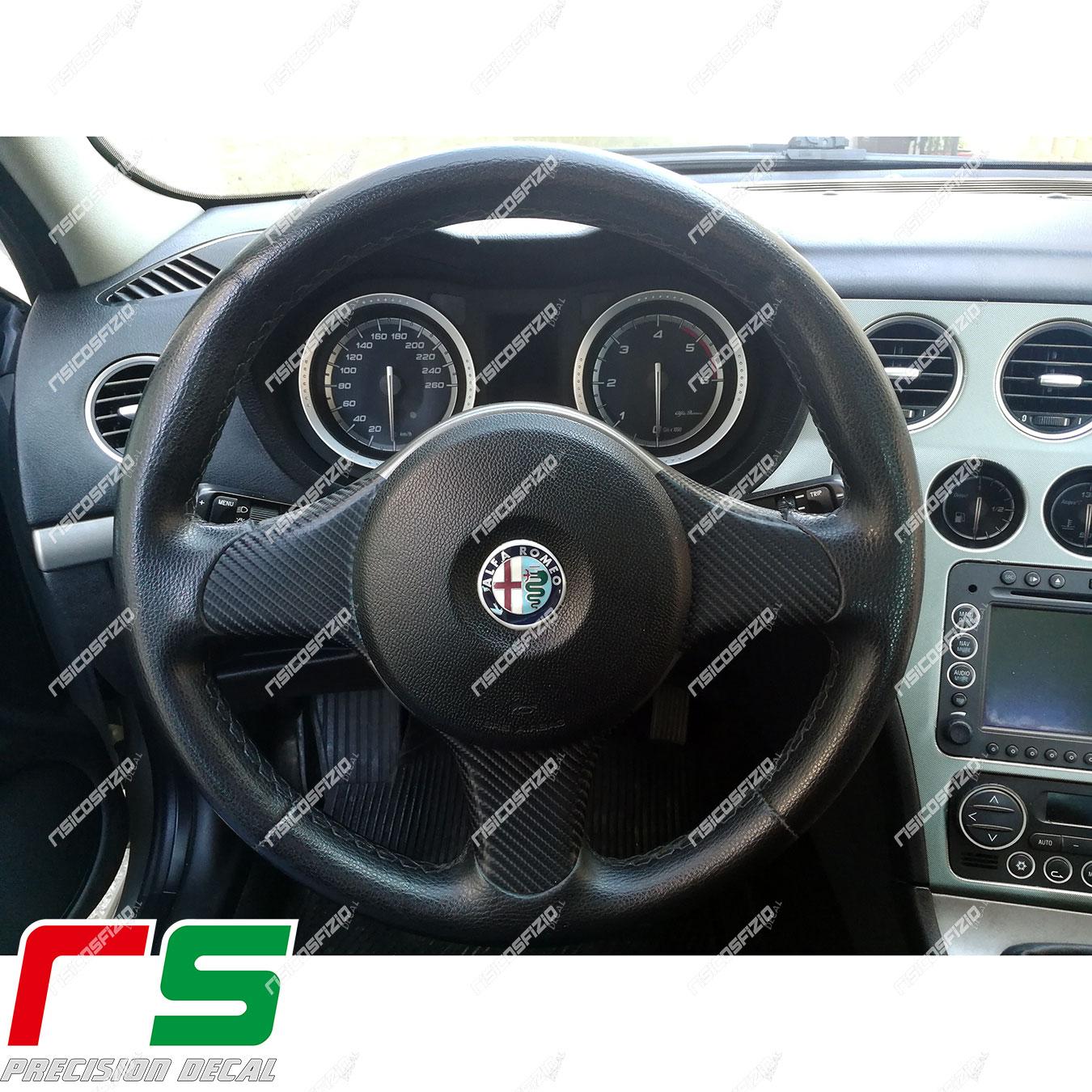 adesivi Alfa Romeo 159 carbon look decal cover razze