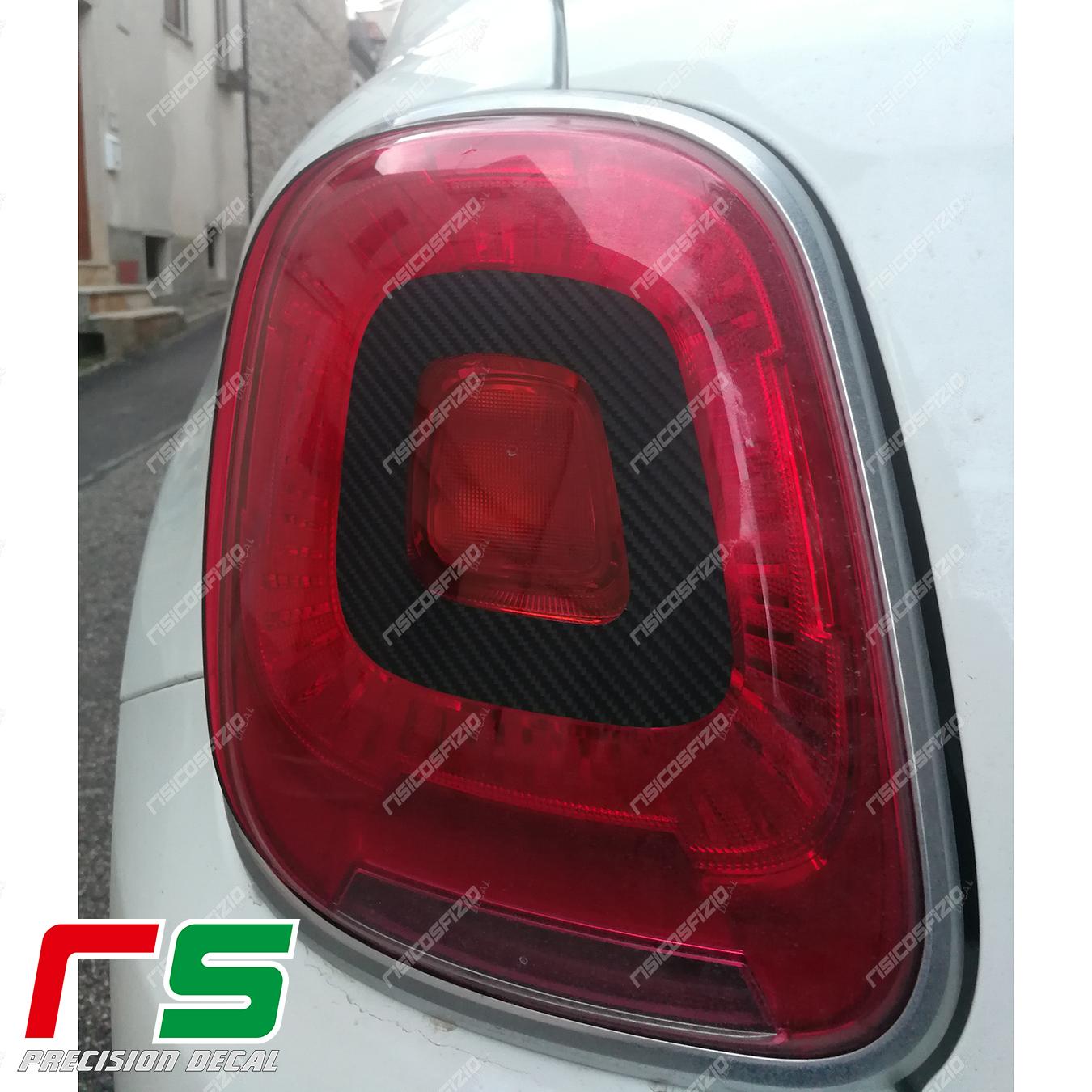 Fiat 500X autocollants autocollant décalcomanie feux arrière arrêt tuning