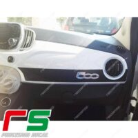 adesivi Fiat 500 Abarth Decal carbonlook fascia cruscotto