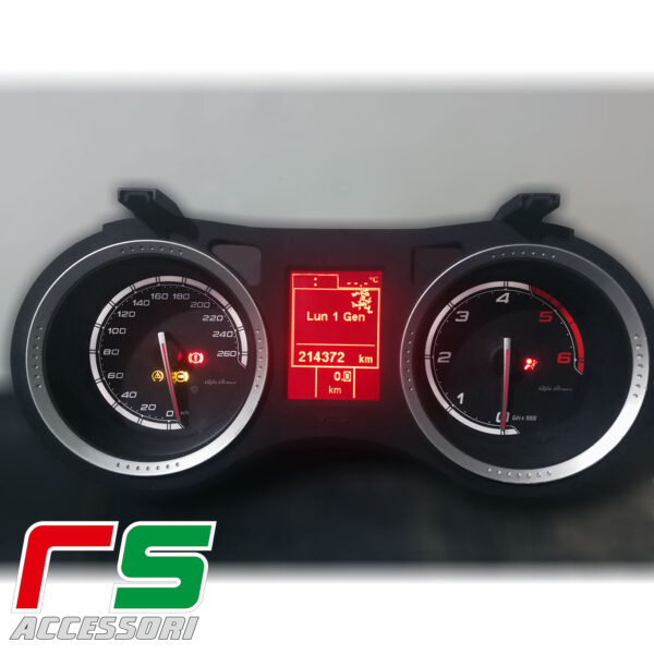 customized instrumentation Alfa Romeo 159 jtdm