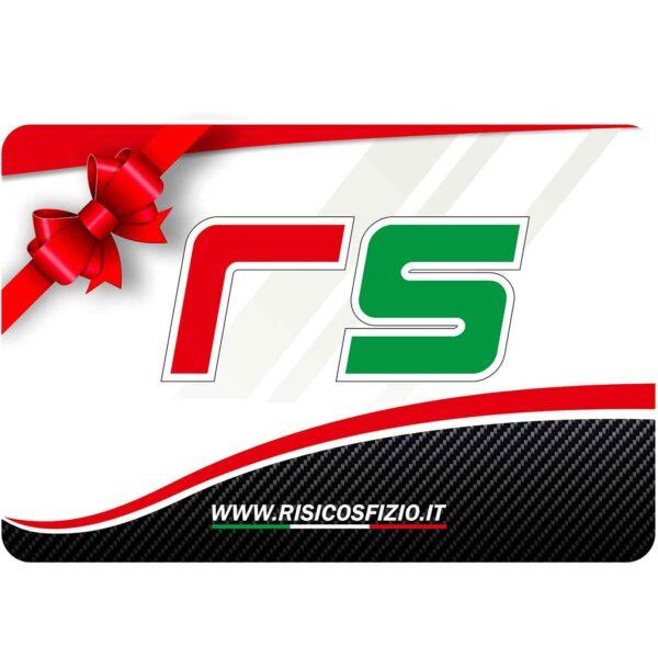 Gift card carta regalo RSaccessori By risicosfizio