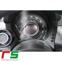 fiat 500 595 695 abarth STICKERS carbonlook dashboard instrumentation inserts