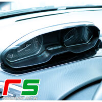 Peugeot 208 dashboard stickers instrumentation decal carbonlook tuning