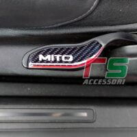 Alfa Romeo Mito ADHESIVE resin black seat raised insert