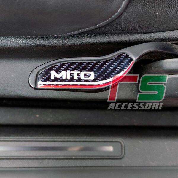 Alfa Romeo Mito ADESIVO resinato inserto alzata sedile