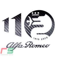 alfa romeo stickers logo 110 anniversary dashboard sticker decal