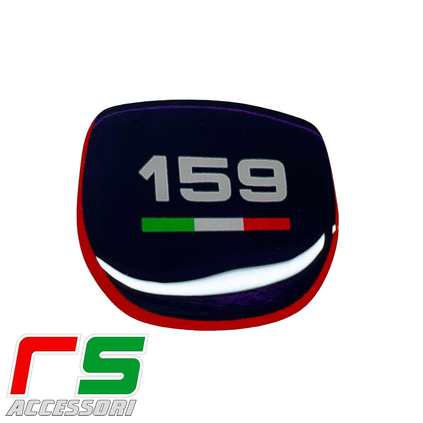 adesivi alfa romeo 159 personalizzati nero maniglia cassetto