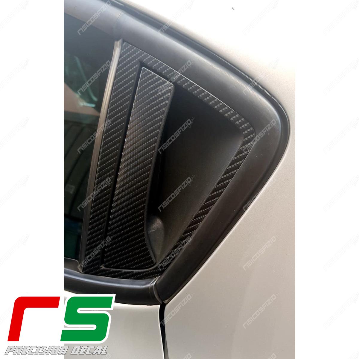Alfa Romeo Giulietta Carbon Stickers Look Simple Door Handle
