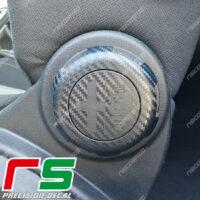 adesivi Alfa Romeo Mito carbon look regolazione sedile logo Decal