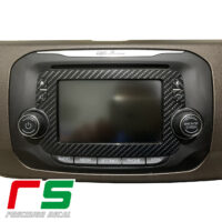Adesivi Alfa Romeo Mito Giulietta Uconnect monitor Decal carbonlook