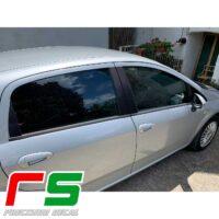 Adesivi carbonlook Fiat Grande Punto 5 porte montanti porta