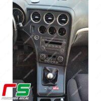Adesivi Alfa Romeo 159 Decal carbonlook consolle centrale navigatore