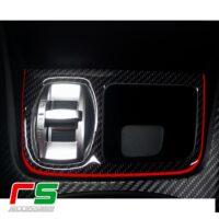 Alfa Romeo Giulietta adesivo portamonete carbonlook il kit comprende 4 decal dedicate per impreziosire e rendere piu grintoso il portamonete