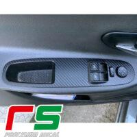 Fiat Punto Evo autocollants décalcomanie régulateur de fenêtre de réglage en carbone