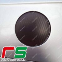 Adesivi Alfa Romeo 156 Decal carbonlook sportello serbatoio logo